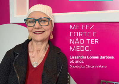 LISSANDRA GOMES BARBOSA – 50 ANOS