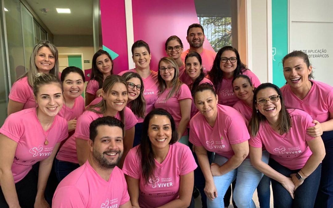 Outubro Rosa 2019: evento reúne especialistas para debater o câncer de mama.