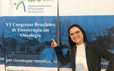 Equipe Viver em busca de atualização no VI Congresso Brasileiro de Fisioterapia em Oncologia