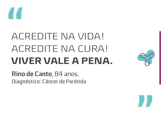 RINO DE CANTO – 84 ANOS