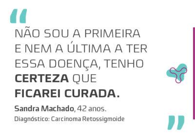 SANDRA MACHADO – 42 ANOS