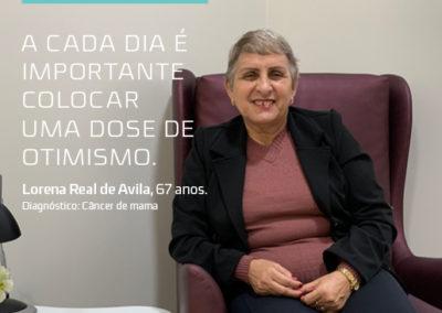 LORENA REAL DE AVILA – 67 ANOS